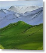More Mountains Metal Print