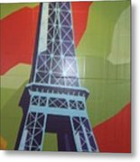More Parisian  Murals.....  Metal Print