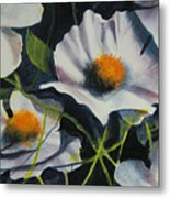 More Poppies Metal Print by Robert Carver