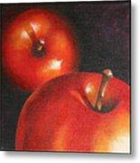 More Red Apples Metal Print by Jose Romero