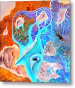 More Seconds In My Head Metal Print