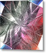 More Shattered Art Metal Print
