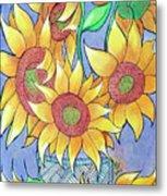 More Sunflowers Metal Print