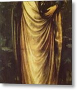 Morgan Le Fay 1862 Metal Print