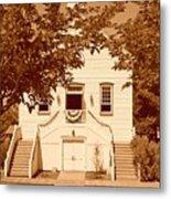 Mormon Pine Valley Meeting House Metal Print