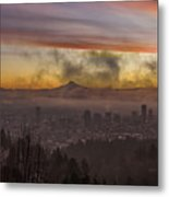 Morning After Christmas Day Metal Print