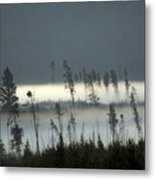 Morning Along The Madison Metal Print