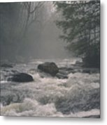 Morning At The River Metal Print