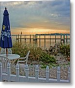 Morning By The Bay Metal Print
