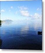 Morning Calm Kaneohe Bay  Metal Print