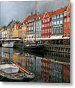 Morning Danish Metal Print