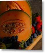 Morning Fruit Metal Print
