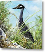 Morning Hunt Metal Print