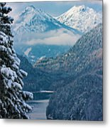 Morning In Bavaria Metal Print