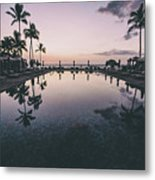 Morning In Paradise Metal Print