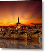 Morning In Prague Metal Print
