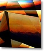 Morning In The Alps Metal Print