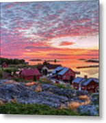 Morning In The Archipelago Sea Metal Print
