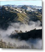 Morning In The Canyon... Metal Print