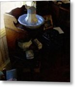 Morning In The Study Metal Print