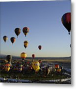 Morning Liftoff Metal Print