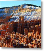 Morning Light At Sunset Point In Bryce Canyon Metal Print