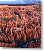 Morning Light In Bryce Canyon Metal Print