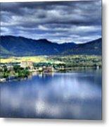 Morning Light On Okanagan Lake Metal Print