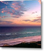 Morning Light On Rosemary Beach Metal Print