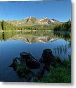 Morning Meditation - Lake Irwin Metal Print