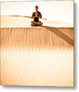 Morning Meditation Metal Print