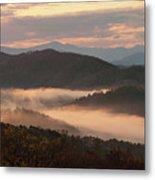 Morning Mist Four Metal Print