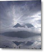 Morning Mist Glencoe Metal Print