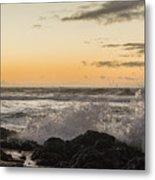 Morning Ocean Mist Metal Print