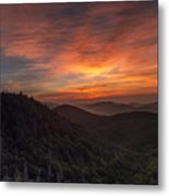 Morning On The Parkway. Metal Print