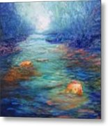 Morning On The Stream #3 Metal Print