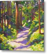 Morning On The Trail 3 Metal Print