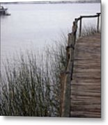 Morning Pier 2 Metal Print