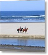 Morning Ride Metal Print