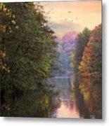 Morning River View  Metal Print