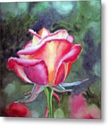 Morning Rose Metal Print