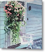 Morning Shadows Metal Print