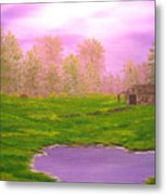 Morning Storm Metal Print