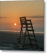 Morning Sun - Wildwood Crest Metal Print