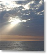Morning Sunburst Metal Print