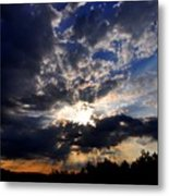 Morning Sunrays Metal Print