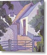 Morning, The South Downs By Robert Polhill Bevan Metal Print