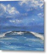 Morning Waves, 9x12, Oil, '08 Metal Print