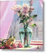 Morning's Glory Metal Print