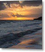 Mornings On The Beach  Metal Print